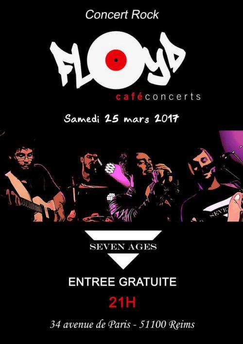 Rock concert in Reims - Seven Ages