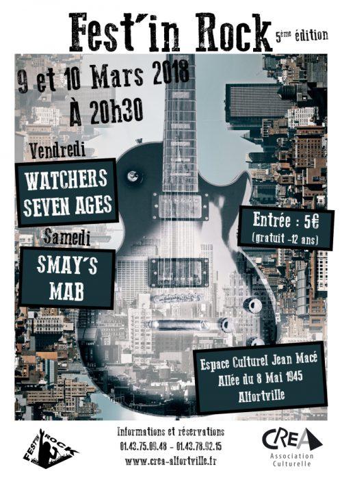 Affiche Festin Rock Seven AGes