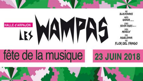 Affiche Fête de la Musique - Wampas Seven Ages