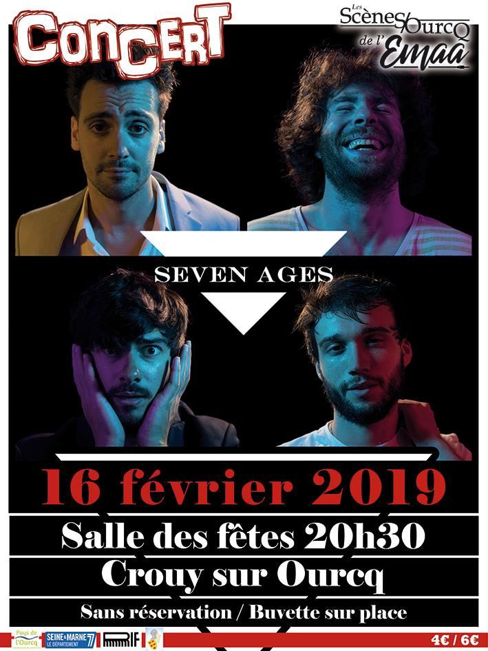 16/2/19 Concert Seven Ages Crouy sur Ourcq